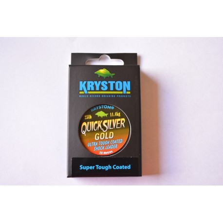 Kryston Quick Silver Gold gravel Brown
