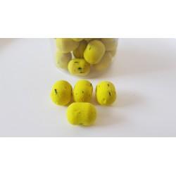Dumbell flottant jaune fluo